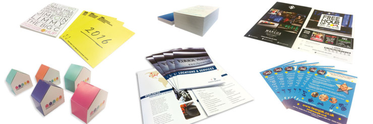 Printed stationery Marketing Material Livingston & Edinburgh